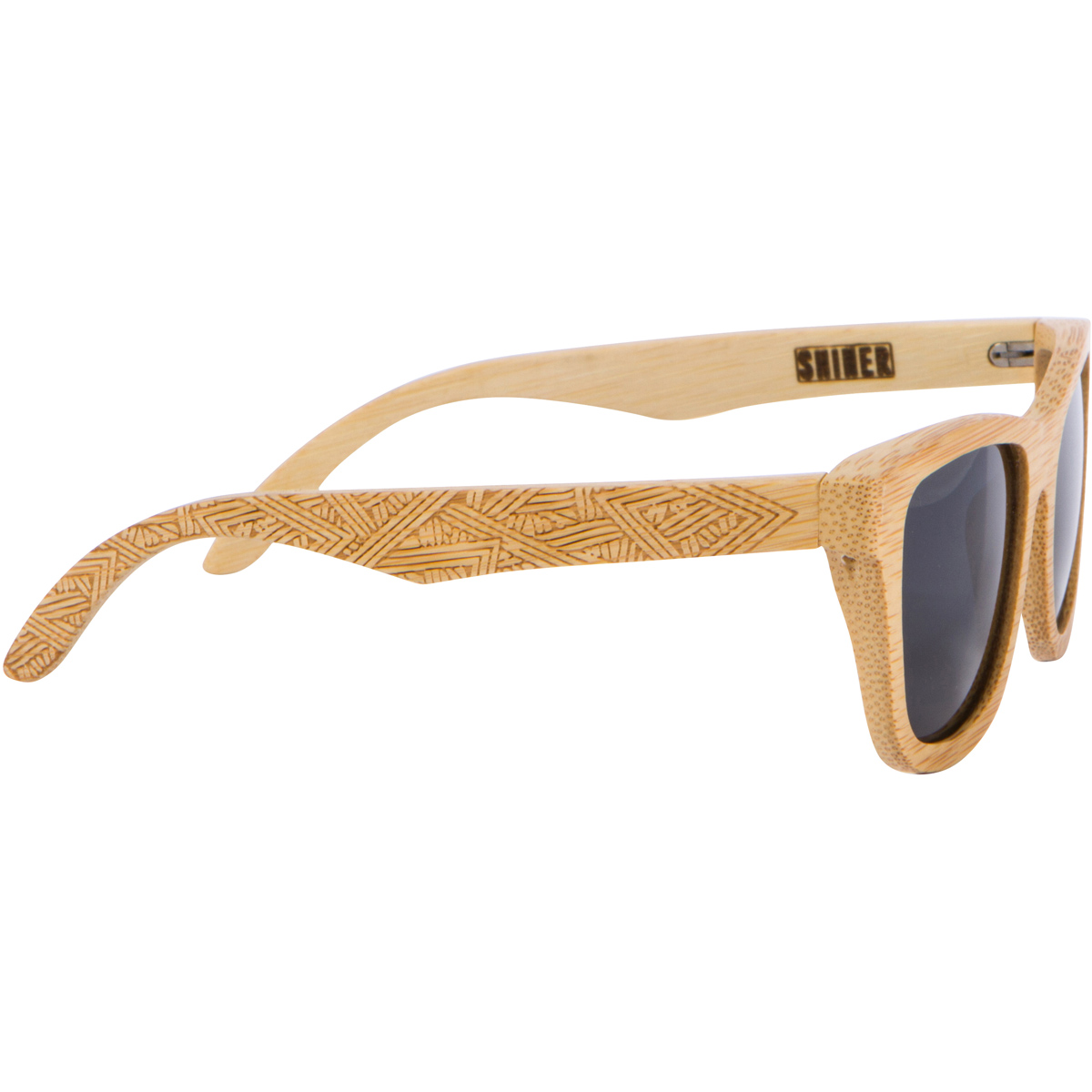 Voyager - Bamboo Frame - Shiner Sunglasses
