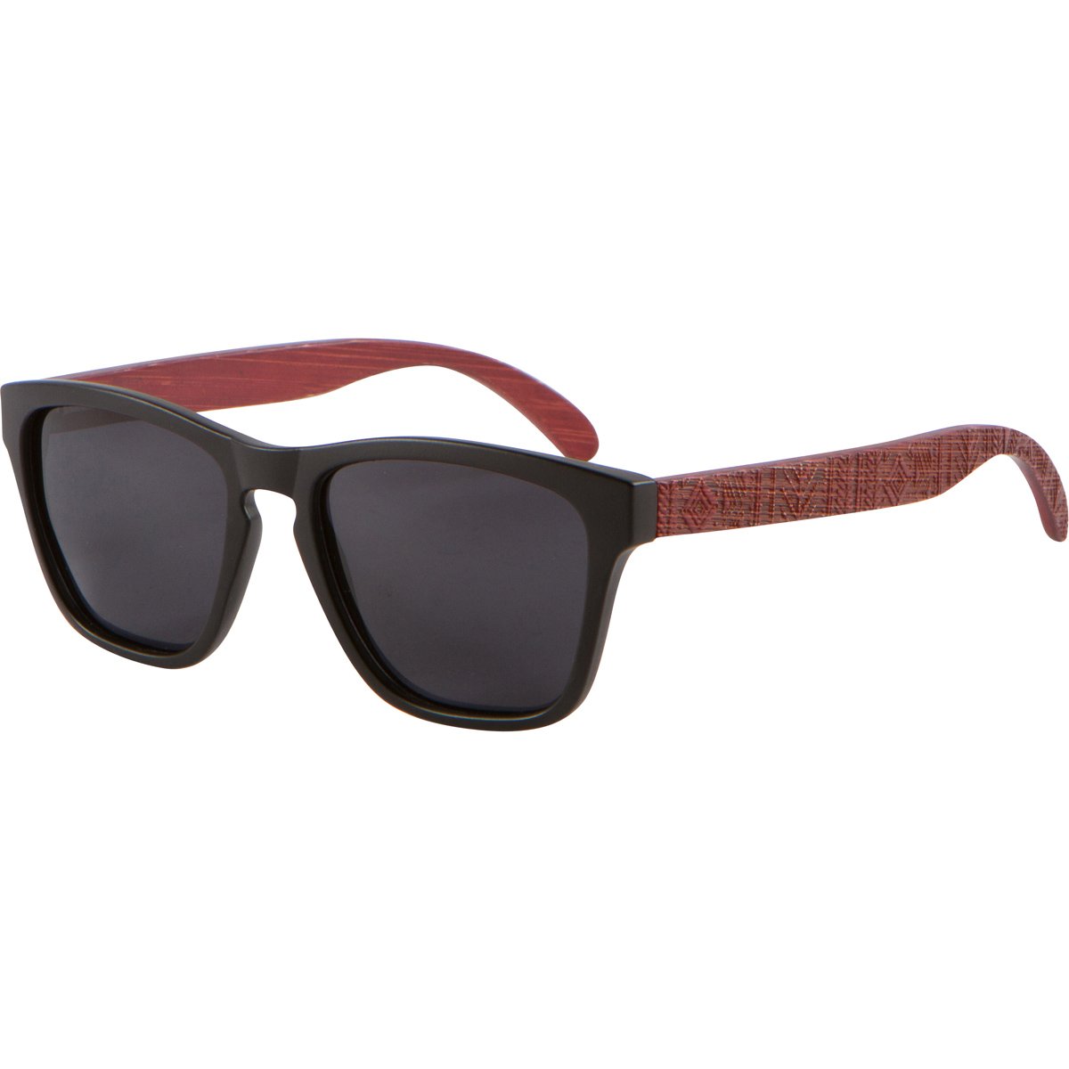 Tribe Red Bamboo Wood Sunglasses