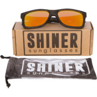 Shiner Black Bamboo Sunglasses