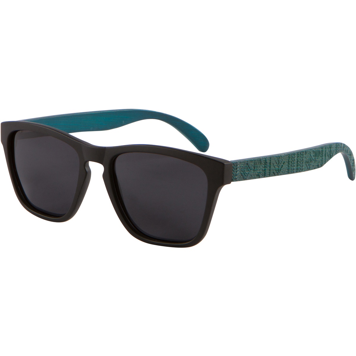 Blue Bamboo Wood Sunglasses